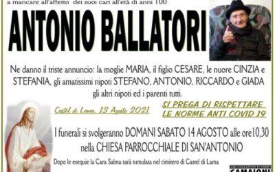 Antonio Ballatori