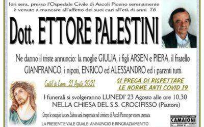 Dott. Ettore Palestini
